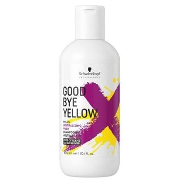 Schwarzkopf GOODBYE YELLOW Anti-Geel Shampoo