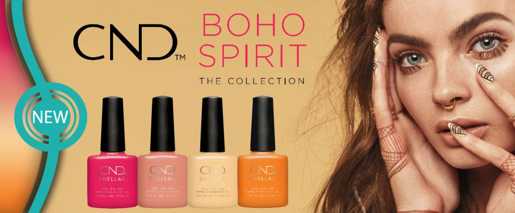 CND™  Boho Spirit Collectie - SHELLAC™ & VINYLUX™