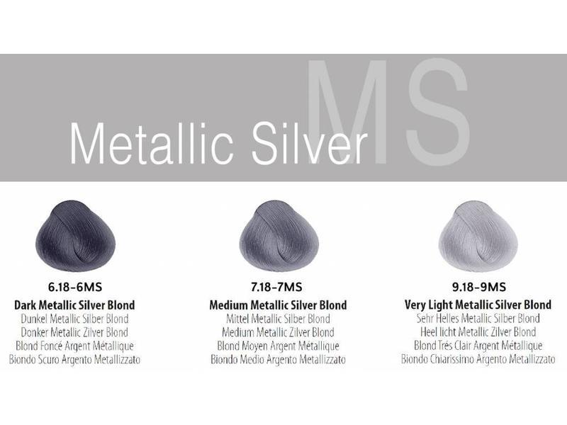 ME Professional ColorME Metallics Kleurenstalen