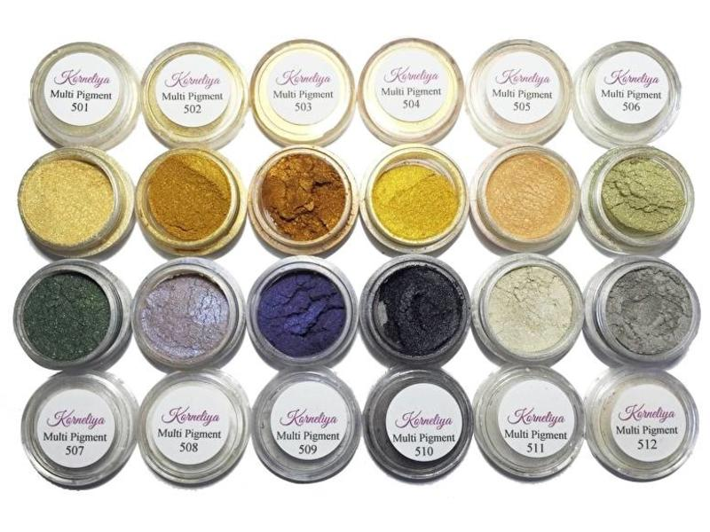 Korneliya Multi Pigment voor Cat eye & Metallook