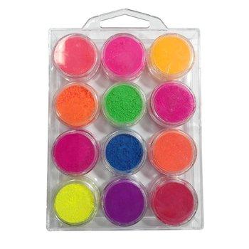 Korneliya Neon Pigment Box 12 Kleuren