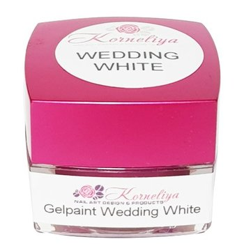Korneliya Magic Gelpaint Wedding White