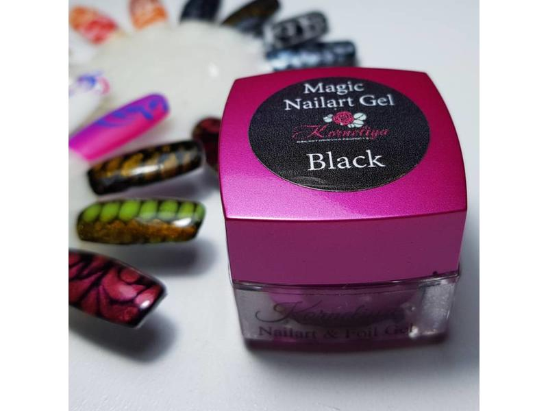 Korneliya Magic Nailart Gel Black