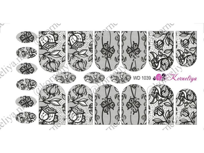 Korneliya Water Decal - Nail Wrap