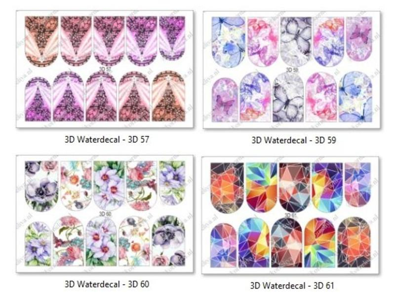Korneliya  3D Waterdecals