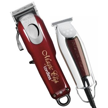 Wahl Combipack Magic Clip Cordless + Detailer Trimmer T-Wide 38mm