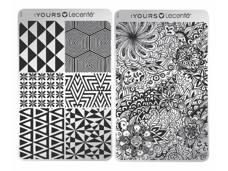 :Yours Cosmetics Loves Lecenté Stempelplaten Collectie
