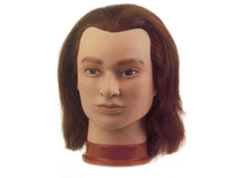 Sibel Oefenhoofd Julien 20-25cm (100% Menselijk haar)