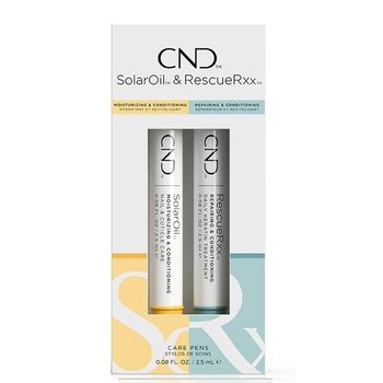 CND Care Penselen Duo Pack (SolarOil & RescueRxx) Nagelverzorging