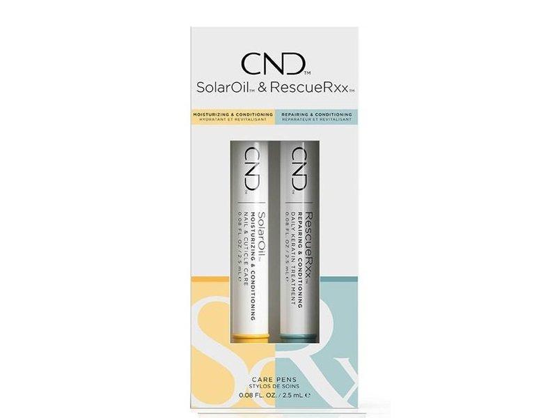CND Care Penselen Duo Pack (SolarOil & RescueRxx)