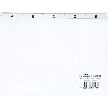 Efalock Register voor Klantenkaarten A-Z