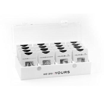 :Yours Cosmetics Stempelplaten Opbergdoos
