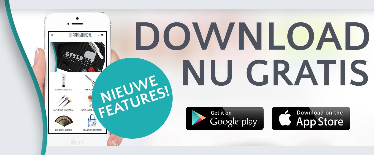 Kappershandel App - nieuwe handige functies!