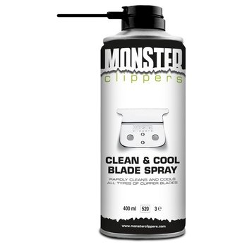 Monster Clippers Clean & Cool Blade Spray (400ml)