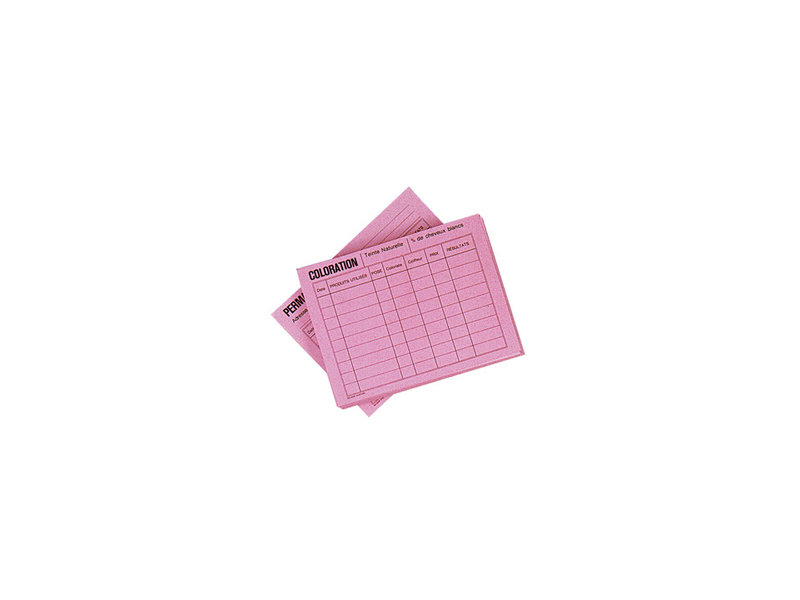 Sibel Kleur- en Permanentkaartjes 50Stk