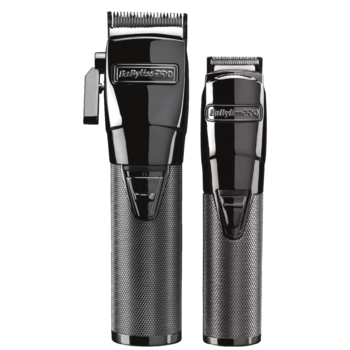 BaByliss PRO Combipack Tondeuse + Trimmer Gun Steel FX FX8705E - 4 Artists Series