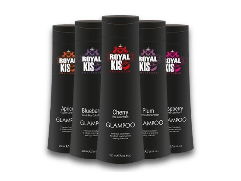 Royal Kis Glamwash Box (5x250ml) Kleurshampoo Intensive Colorwash