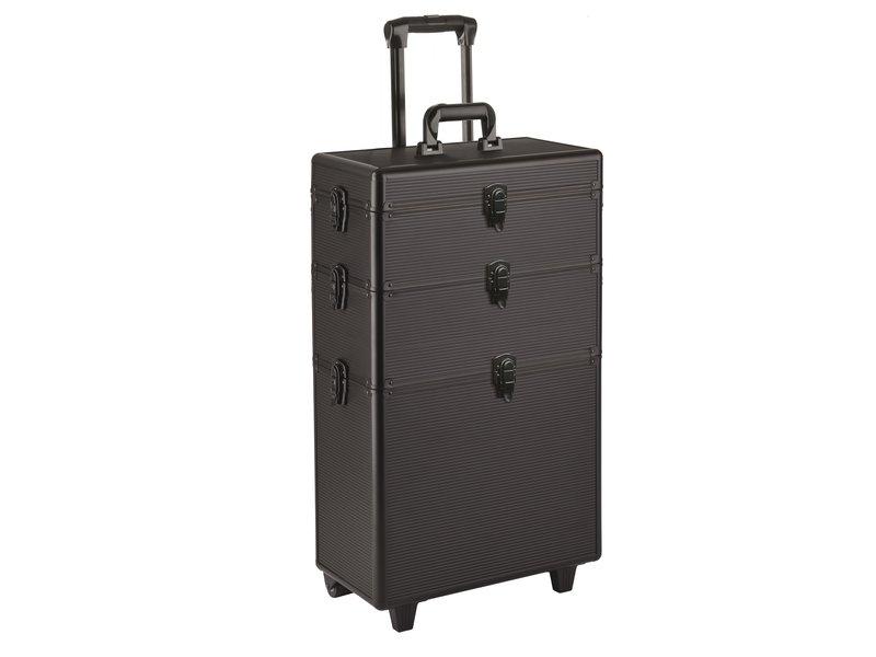 Efalock Koffer 3 Laags Assist Zwart