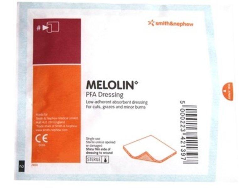 Melolin 5x5cm Steriel Niet-verklevend Absorberend Kompres