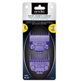 Andis Master Magnetic Comb Set #0 + #1 Opzetkamset