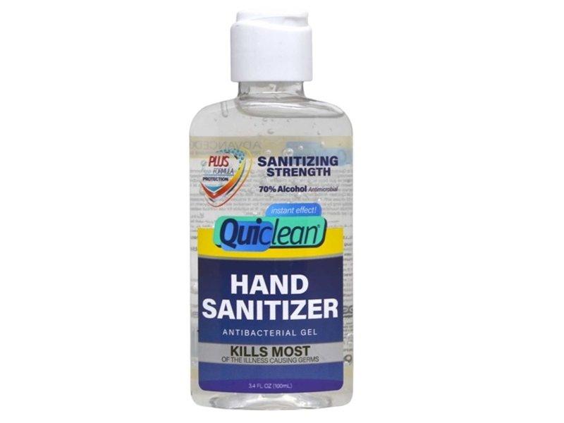 Quiclean Desinfectant Alcoholgel Ontsmettingsmiddel (100ml)