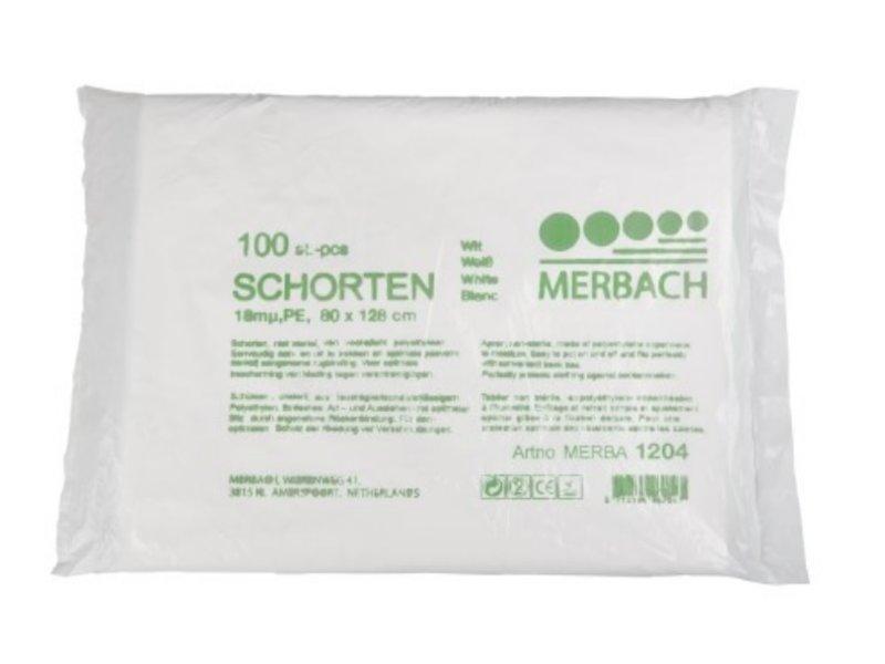 Merbach Wegwerp Schorten in Zak (100 Stuks)