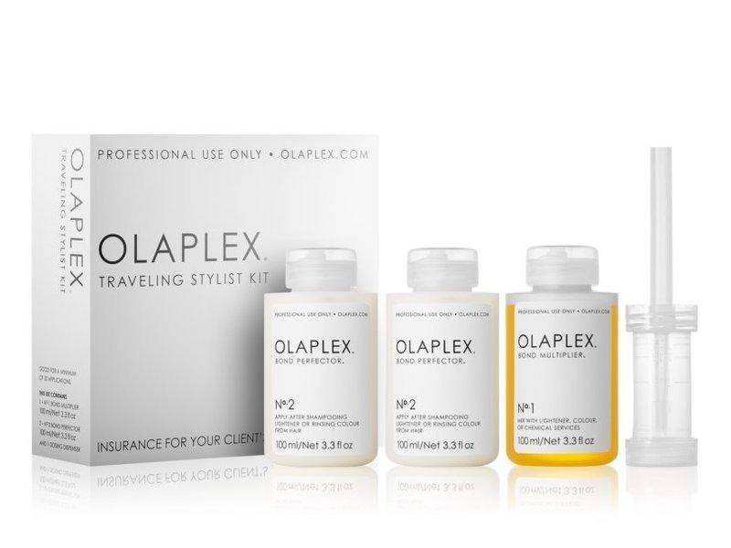 Olaplex Travel Stylist Kit (No. 1 + No. 2 - 100ml)