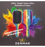 Denman Borstel D90L Tangle Tamer ULTRA Rainbow
