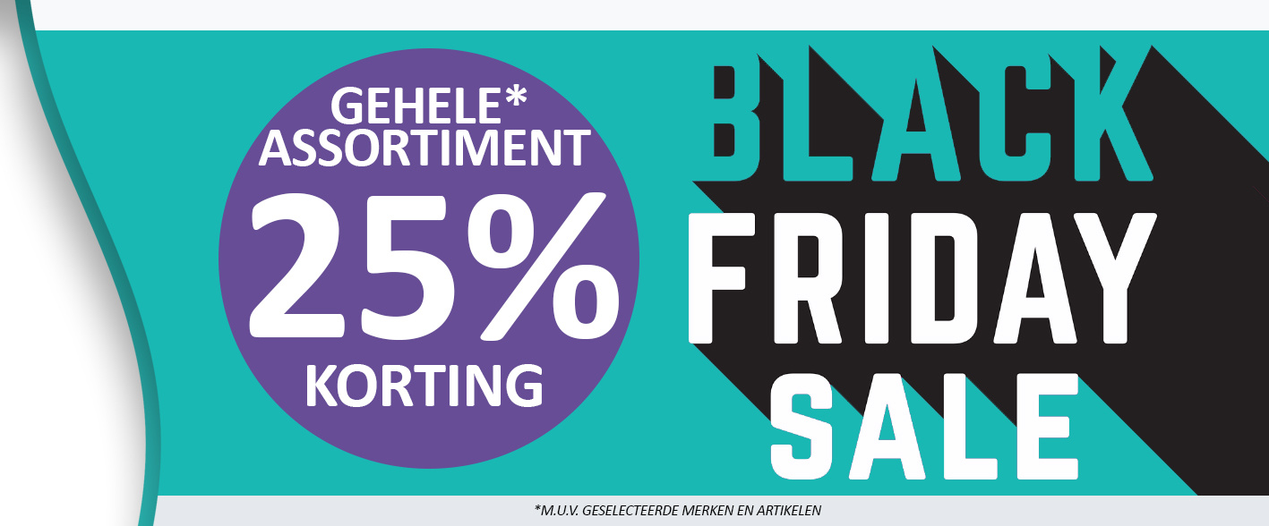 BLACK FRIDAY SALE 2020 bij Kappershandel!