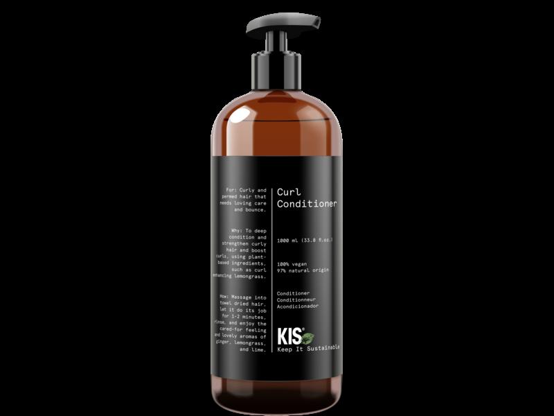 KIS Green Curl Conditioner 100% Vegan