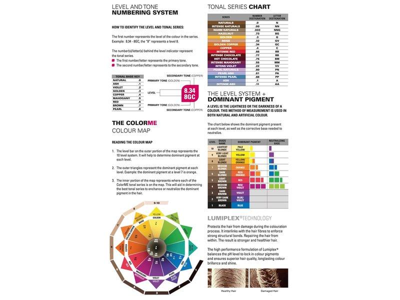 ME Professional ColorME Kleurenkaart