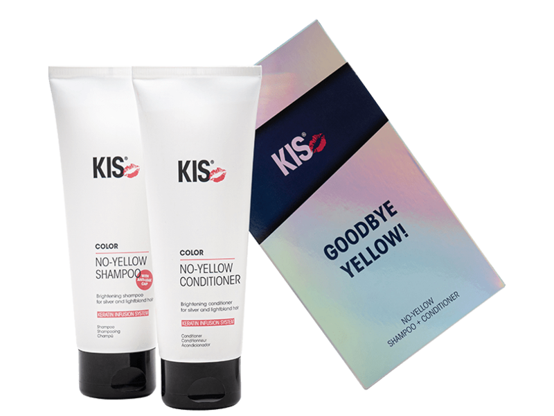 KIS No-Yellow  Duo Set Shampoo & Conditioner (250ml)