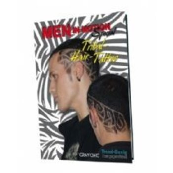 Trend Design Modellenboek Herenkapsels Tribal
