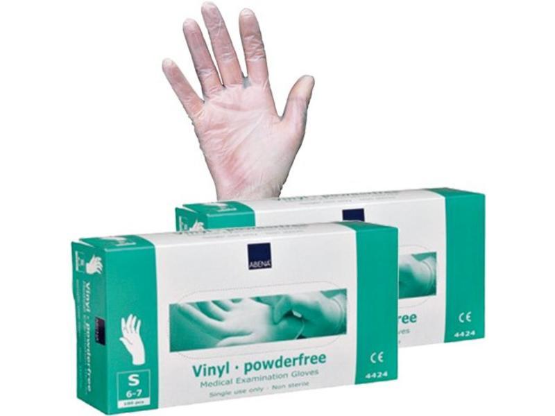 Abena Vinyl Handschoenen Met Poeder (100 Stuks)