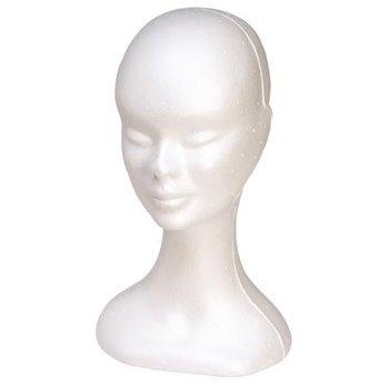 Sibel Dameshoofd Mannequin Standaard Wit