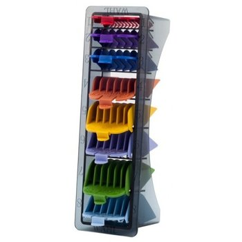 Wahl Opzetkammen Set Plastic Gekleurd #1 t/m #8