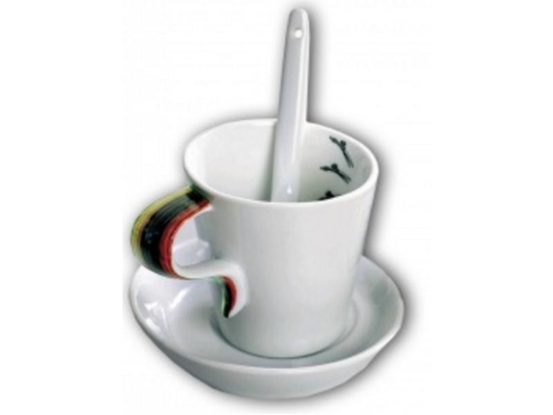 Trend Design Kopjes Cafe Design Set (18-Delig)