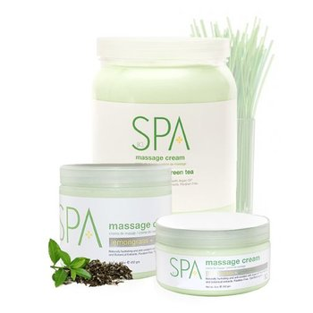 BCL SPA Lemongrass and Green Tea Massage Cream