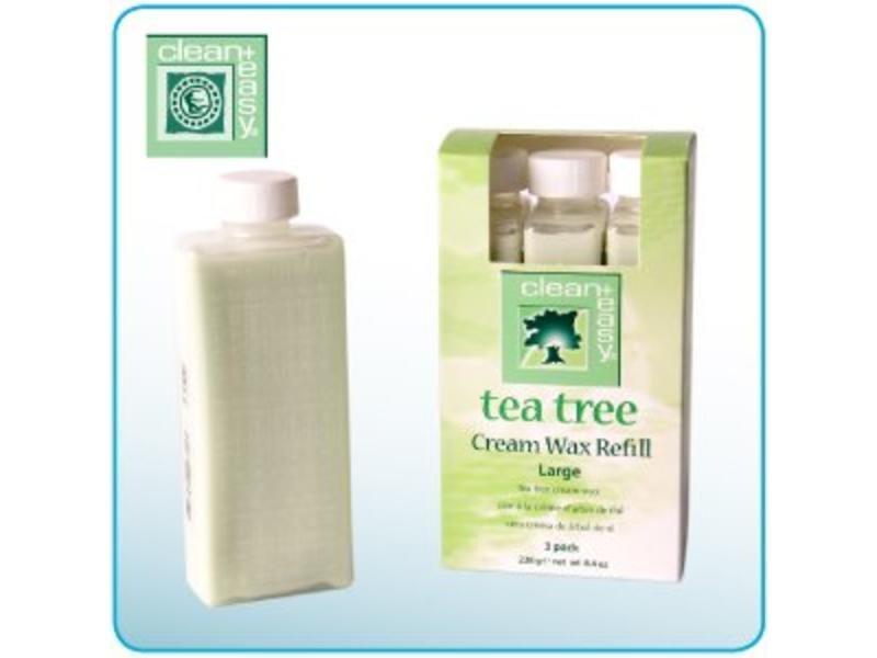 Clean And Easy Tea Tree Cream Wax Refills