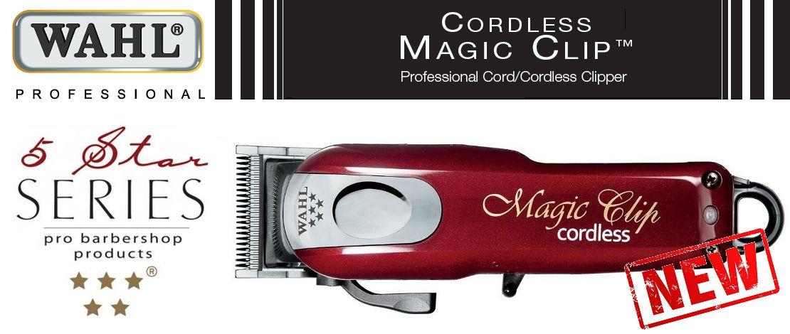 Dé Wahl 5-Star Magic Clip Cordless, voor ongeëvenaarde resultaten.