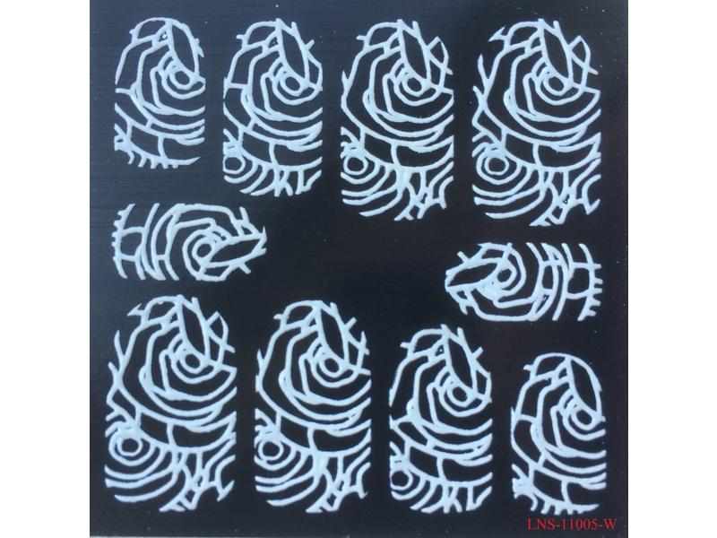 No Label Nail Art Design Sticker