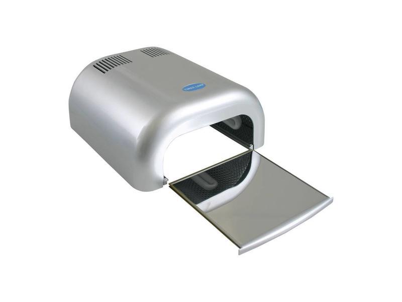 No Label 1-Hands UV-Lamp UL4B Zilver