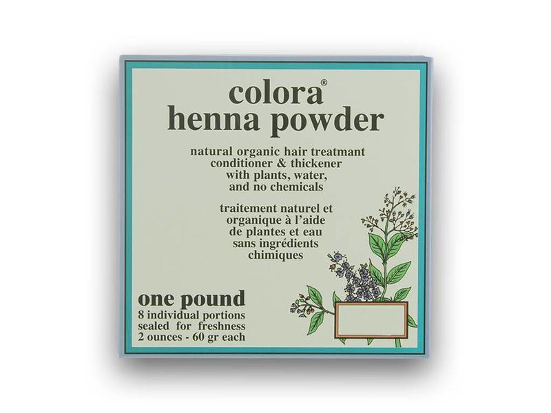 Colora Henna Poeder Natuurlijke Haarkleuring