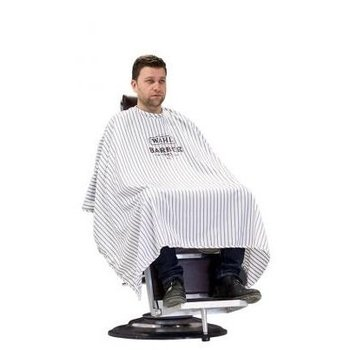 Wahl Barber Cape Pinstripes Barbier Kapmantel