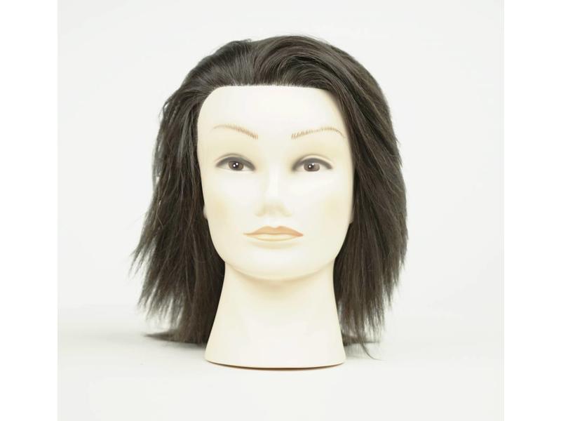 ME Professional TrainME Oefenhoofd Dalarna 35-40cm 100% Echt haar