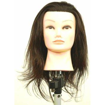 ME Professional TrainME Oefenhoofd Brenda 15cm 100% Echt haar