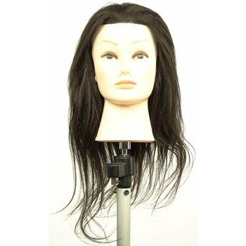 ME Professional TrainME Oefenhoofd Francesca 45-50cm 100% Echt haar