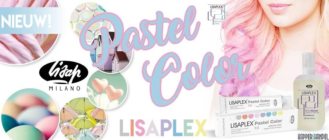 Lisap Lisaplex Pastel Color Haarverf, een regenboog aan creaties!