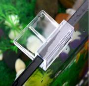 Buyatjohn Glas Clip voor het bevestigen op een glazen aquariumrand. Prijs per 2 stuks