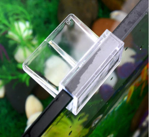 Buyatjohn Glas Clip voor het bevestigen van onze ledbalken. (Prijs per 2 stuks)